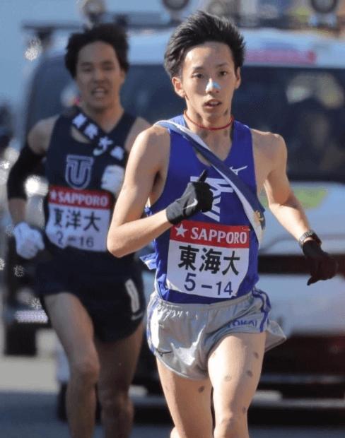 箱根駅伝2019東海大学、小松選手